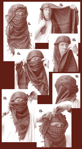 Scarf arab how to wear