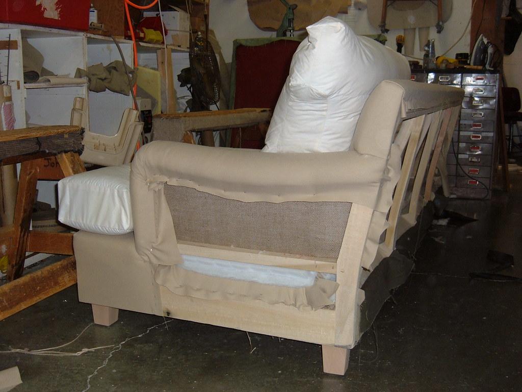 New Sofa Construction In Progress Michael S Upholstery Flickr