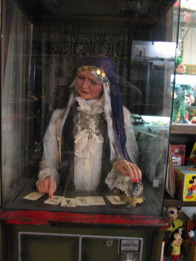 gypsy fortune teller machine found this in a totally
