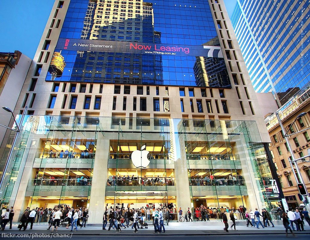 Sydney Apple Store Some Apple Store Factoids From