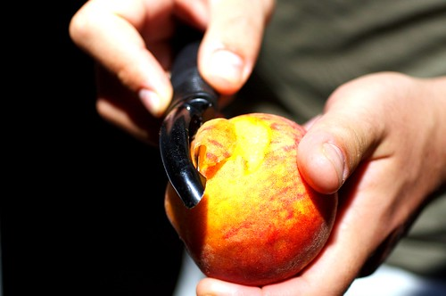 peeling peaches | by smitten kitchen