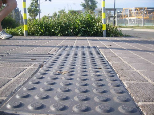 Tactile Paving The Original Tactile Paving Was Developed