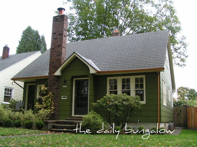 Exterior Color Schemes::Green::Paint Colors for the Historic Home ...