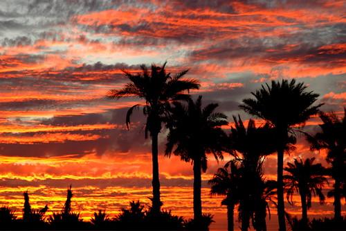 Sunset In Yuma Arizona Ted Schredd Flickr