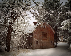 Barn in winter | by James Jordan