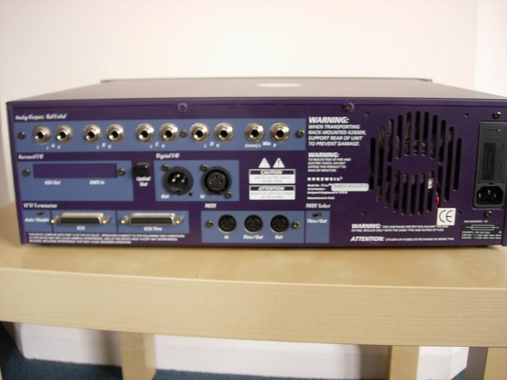 Kurzweil K2600R Treiber Herunterladen