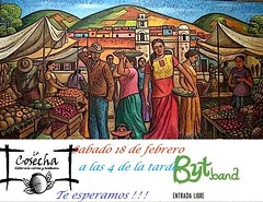 La Cosecha presents BytBand Saturday, February 18, 4pm