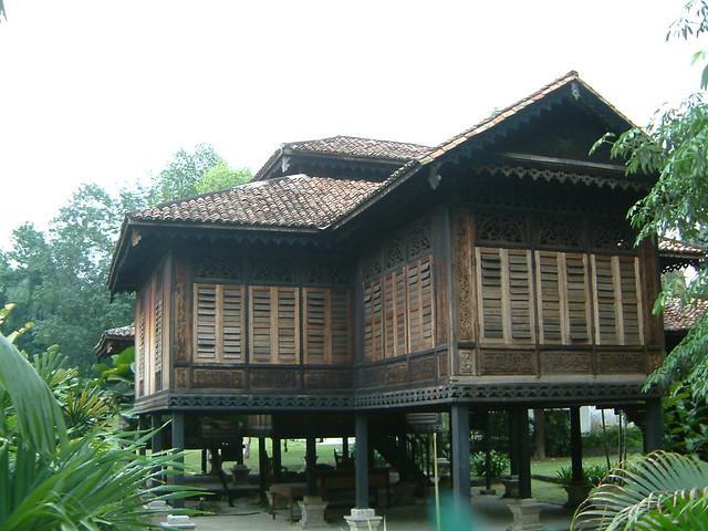 Traditional Malay House Kuala Lumpur Malaysia Rumah Pen