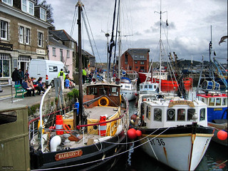 Padstow Harbour, Cornwall | by photphobia