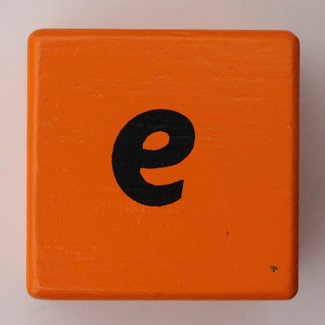 Alphabet Block E Flickr Photo Sharing