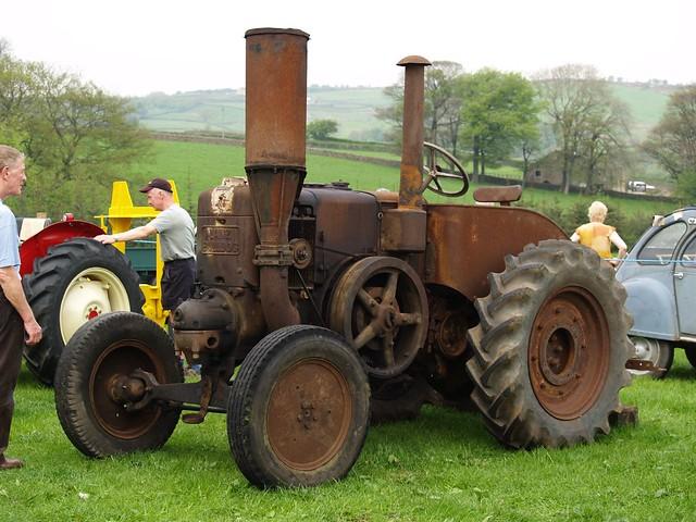 Old Farm Tractors : Lanz bulldog old rusty farm tractors