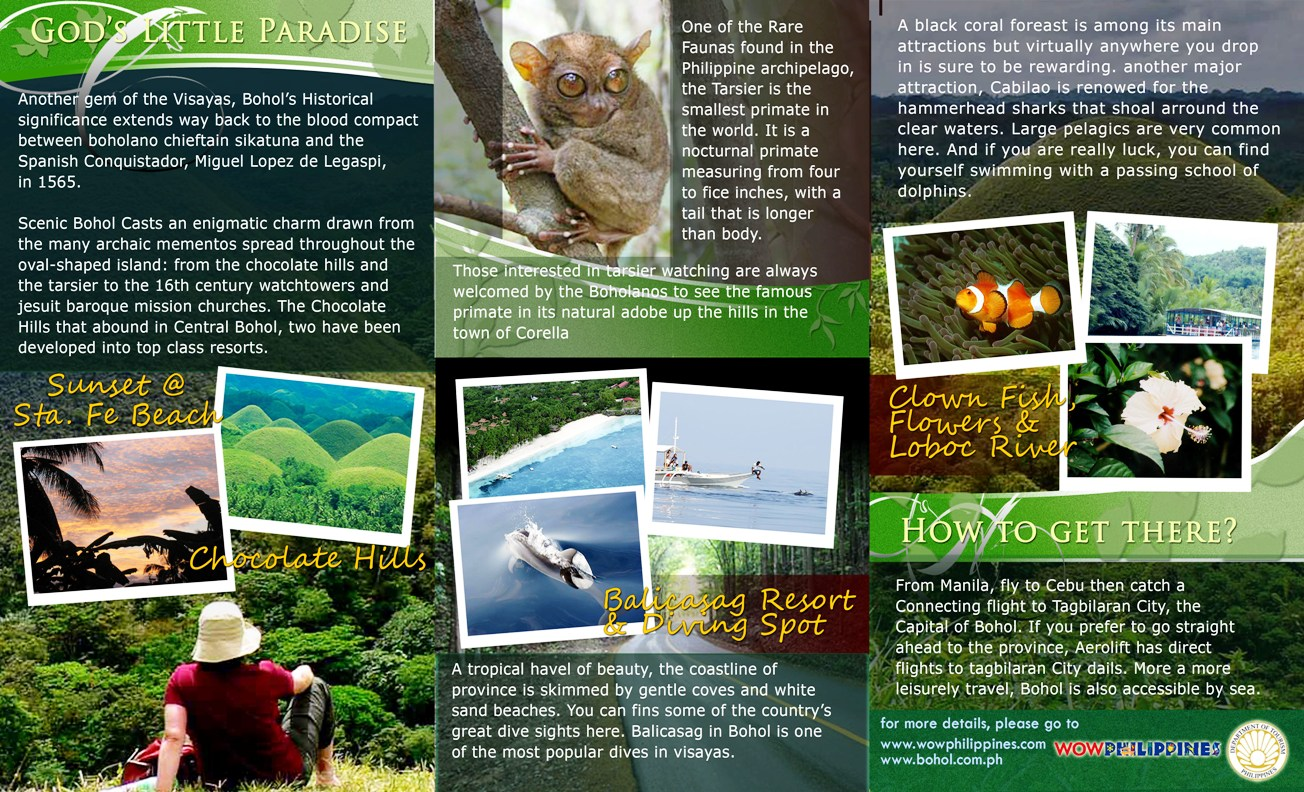 All Sizes Bohol Brochure Page 2 Flickr Photo Sharing