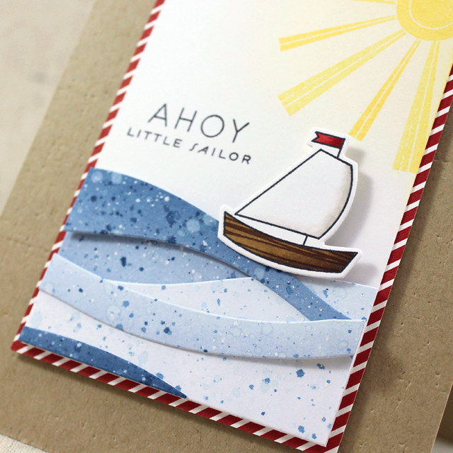 10th Anniversary - Ahoy Little Sailor Close Up