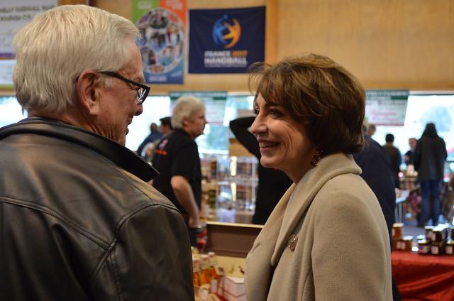 Marisol TOURAINE à Preuilly-sur-Claise et Marcé-sur-Esves