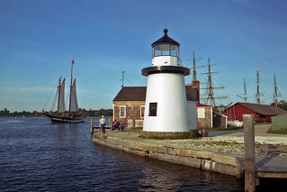 Lighthouse at Mystic Seaport, Connecticut | by nelights