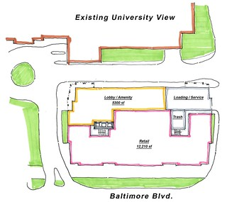 View first floor site plan | by RethinkCollegePark