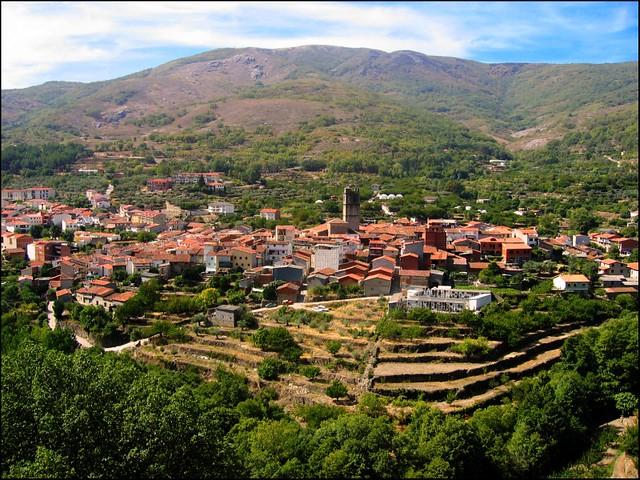 Pueblo >> Garganta la Olla   Panorámica del pueblo Garganta la Olla, e…   Flickr