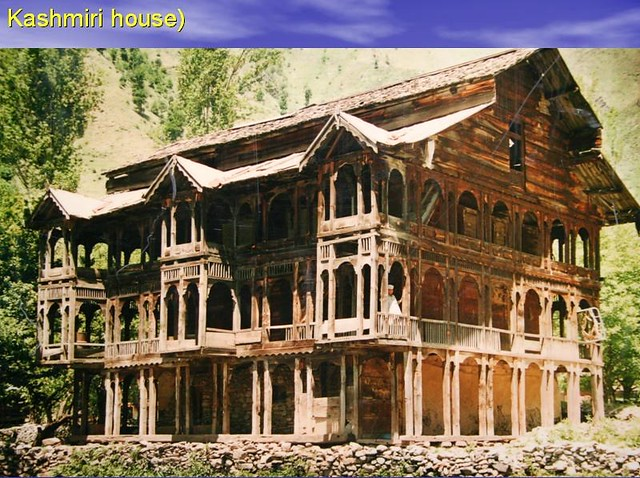 About 100 years old traditional kashmiri house in leepa va for Classic houses images