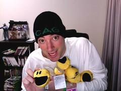 CAG Hat & Pac-Man Plushies | by CheapyD