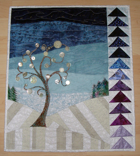 4SQS Winter Quilt by Tami | by Lemon Tree Tales