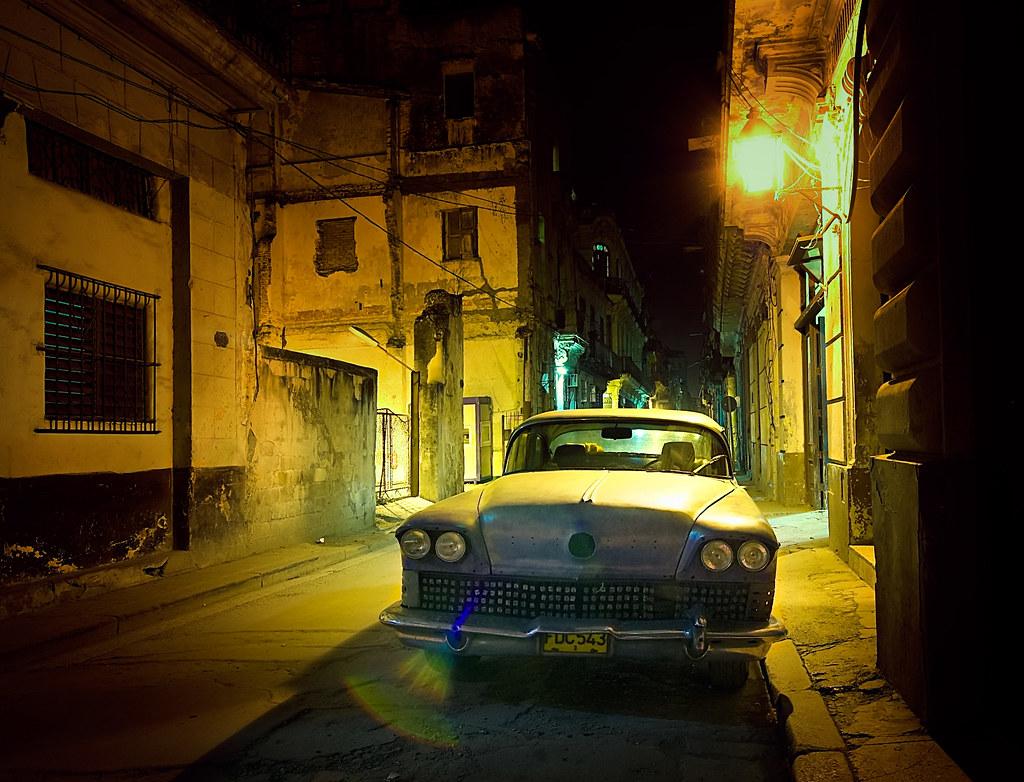 Casa Particular Havana >> Noite em Havana Velha [Night in Old Havana] | À noite em Cal… | Flickr