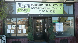 Foreclosure Bus Tours sign (vulture tourism!), San Diego, CA.JPG | by gruntzooki