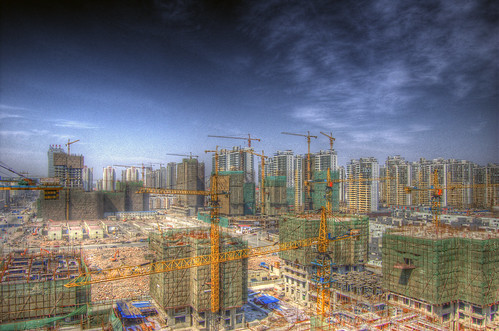 Tianjin Construction Site. | by jakob.montrasio.net