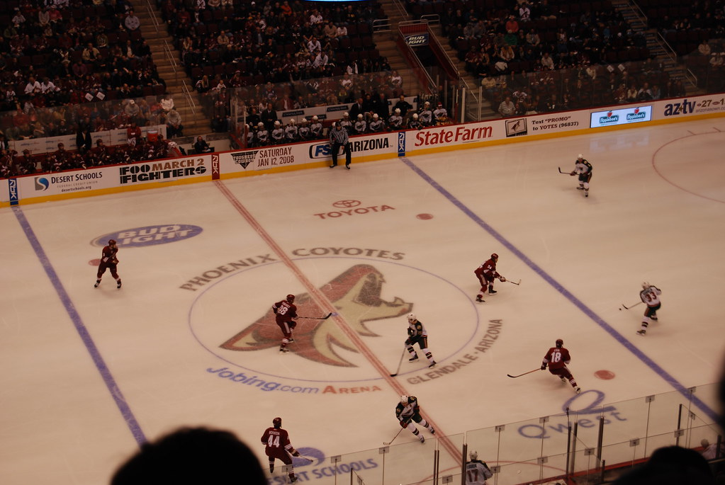 phoenix coyotes arena v - photo #19