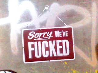 Cans Festival: Sorry We're Fucked | by Megandavid