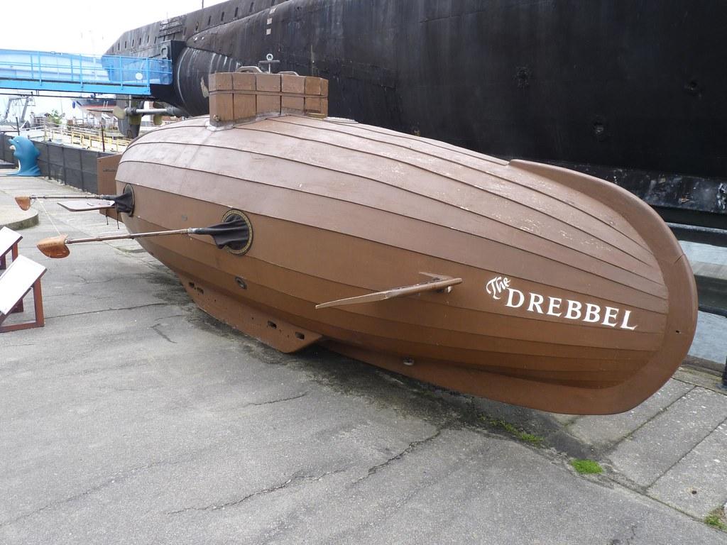 Van Drebbel Submarine 1620 Replica Between 1620 Amp 1624
