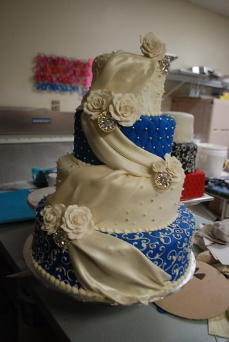 cakes for weddings sapphire blue wedding cake cakeguru flickr 2372