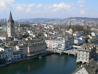 Zürich panorama with city rooftops, Switzerland | by phototouring