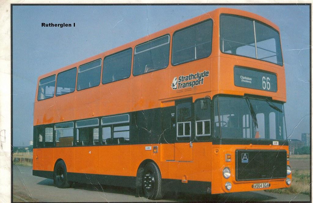 Volvo V >> Strathclyde Transport Volvo Ailsa A101   Postcard image of V…   Flickr
