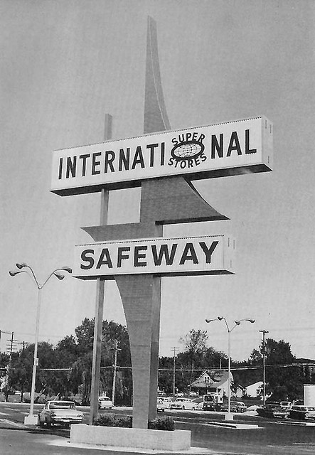 Safeway 1964 Lincoln Nebraska Photograph Showing The