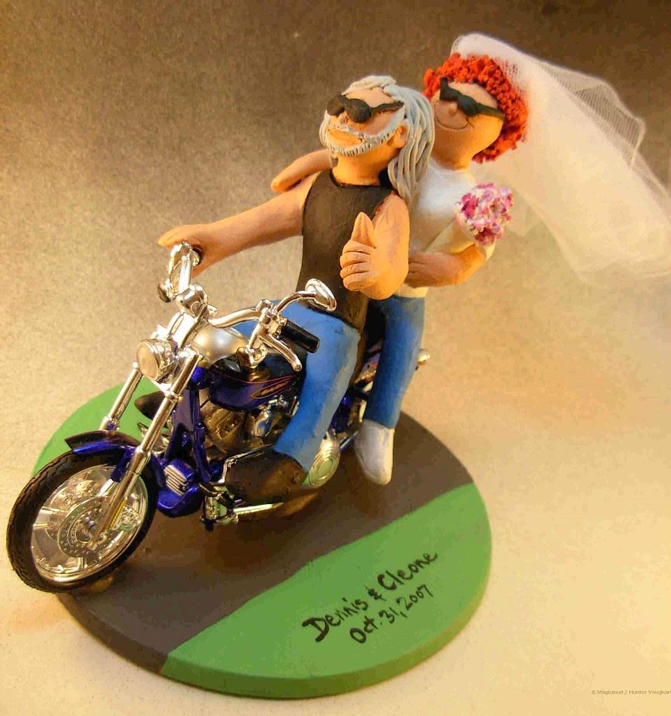 Harley Davidson Wedding Cake Topper Harley Davidson