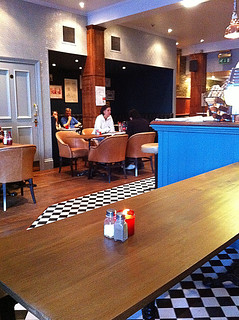 Interior of Lothian Road's Red Squirrel Bar | by www.theedinburghblog.co.uk
