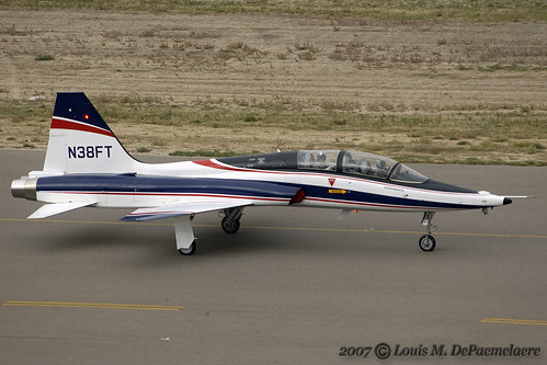 Northrop T-38 Talon -- Boeing Aircraft Corporation (N38FT) | by One Mile High Photography