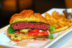 hamburger | by food_in_mouth