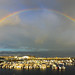 Rainbow Over Olhao Harbour