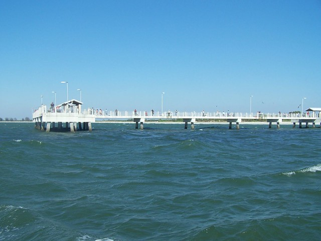 Fishing pier at fort desoto dorothy finley flickr for Fort desoto fishing pier