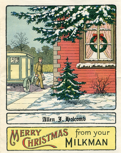 Merry Christmas from Your Milkman | by karen horton