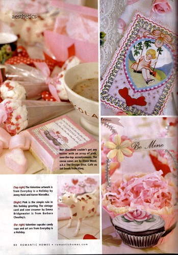 Our work featured in the current issue of Romantic Homes magazine (Feb 2008) | by holiday_jenny