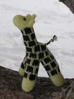 "A Giraffe in the snow | by ""penny"" was already taken"