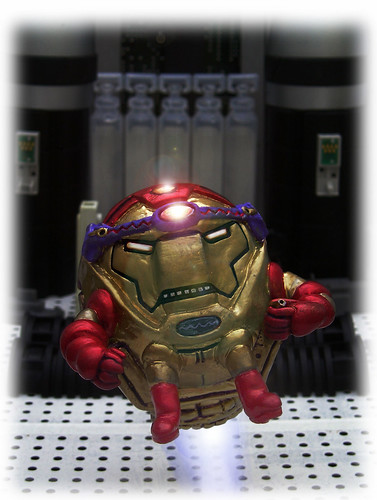 IRON MAN - IRON  M.O.D.O.K | by zero g