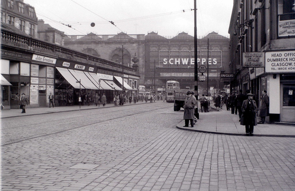 Argyle Street, Glasgow, 19 April 1960