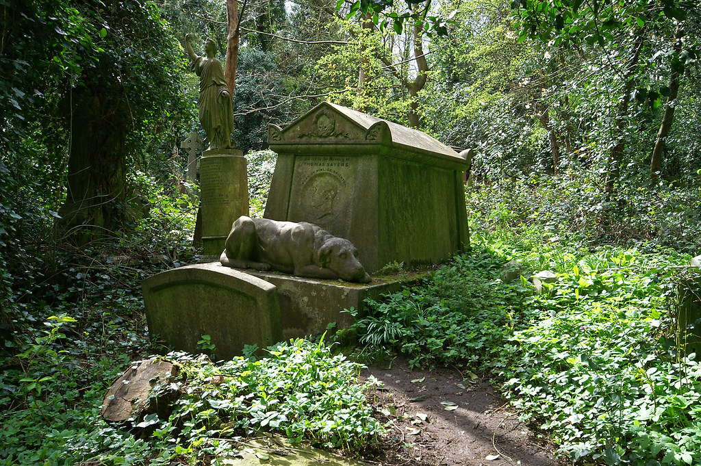The Tomb Of Thomas Sayers - Bare Fist Fighter - Highgate L
