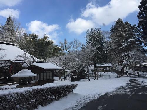 冬の中尊寺