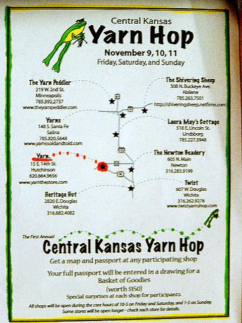 yarn hop | the first annual central ks yarn hop...rock out | yarn ...
