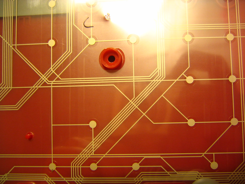 Membrane Traces Flickr Photo Sharing Printed Circuit Board Pcb Reverse Engineering