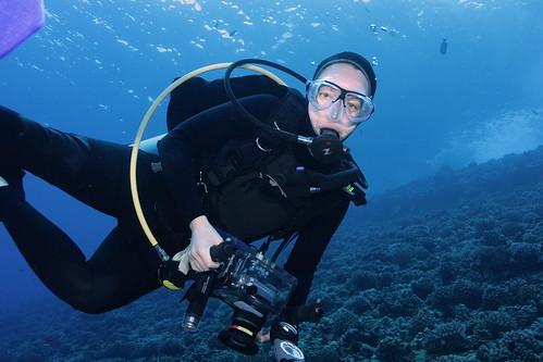 Lisa Munger, Ph.D, Biological oceanographer at work. | Flickr